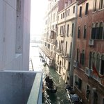 Out towards Grand Canal entrance
