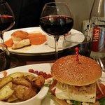 Fantastic Tofu Burger and Portuguese Style Cod