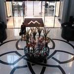 Lobby, picture taken from Mezzanine Level