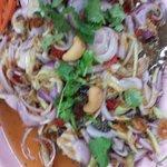 Deep fried fish tamarind sauce yumness