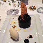 Magnifique et délicieuse gourmandise au chocolat et gingembre