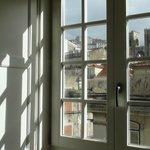 Vista da janela dos quartos