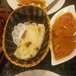 Tandoori, Naan, Butter Chicken, Vege Tikka