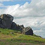 Cow and Calf Rocks.