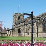 All Saints Church Ilkley Town centre.