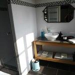 salle de bain de la chambre Vallon