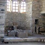 Batistery inside Ekatontapiliani church