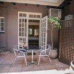 Behrens Room Courtyard