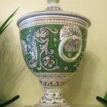 Die grüne Vase