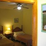 Schlafzimmer Bungalow Nr. 26
