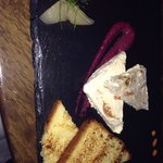 Yummy goats cheese starter