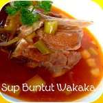 Wakaka's signature oxtail soup