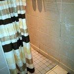 die Duschen im Spa-Bereich