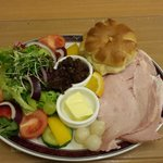 Ploughman's Lunch with Ham