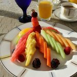 Fruit Plate at Bistro