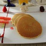 Pancakes at Bistro