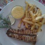 Cape Salmon with bearnaise sauce