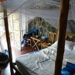 interior, small/half hut,  Paradise Lodge, Arba Minch, Ethiopia