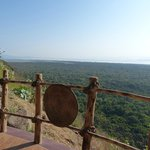 view from reception,  Paradise Lodge, Arba Minch, Ethiopia