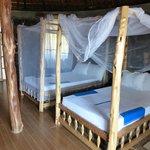 View hut, interior,  Paradise Lodge, Arba Minch, Ethiopia