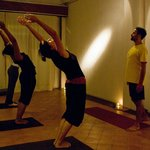 Yoga Class at Sangam House