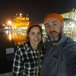 Selfie at the Golden Temple