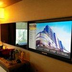 Big TV screen