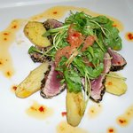 Sotto Sopra's special seared tuna