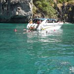 phi phi island..well worth the day out island hopping and snorkling, swimmig