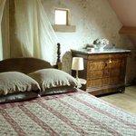 La chambre de grand-mère, super mignonne.