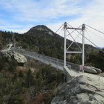The Mile-High Swing Bridge at Grandfather Mountain