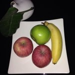 Fresh fruit every day