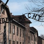 Entrance to Auschwitz- Work Makes you Free