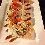 Godzilla roll. Delicious!