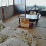 部屋はこんな感じです。