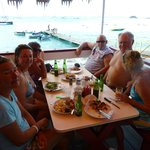 Great lunch in Grand Case