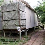 Une des tentes du camp