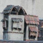 magnifiques cheminées des toits voisins