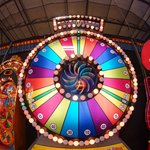 Spin the Wheel in the arcade!