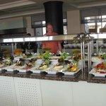 Excellent salad bar