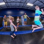 Jump around with your family and friends!