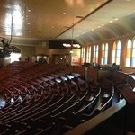 Balcony of the Ryman Auditorium