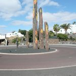 Totem Poles adjacent to Promenade