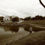 Hostel & Angling Pond.