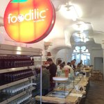 Our new Foodilic eatery on Pentonville Road near Kings Cross St Pancras