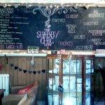 Delicious and decorative menu