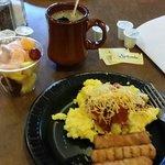 Breakfast was pretty standard...no frills