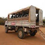 camion pour bandia