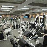 Stregth training room