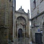 En el centro historico de Viana